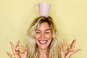 Joss Stone Cuppa Happy In Partnership With Weleda