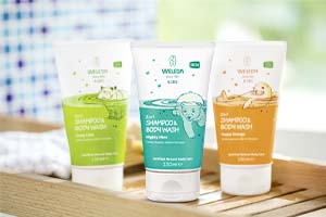 Weleda Natural Baby Body Washes Range