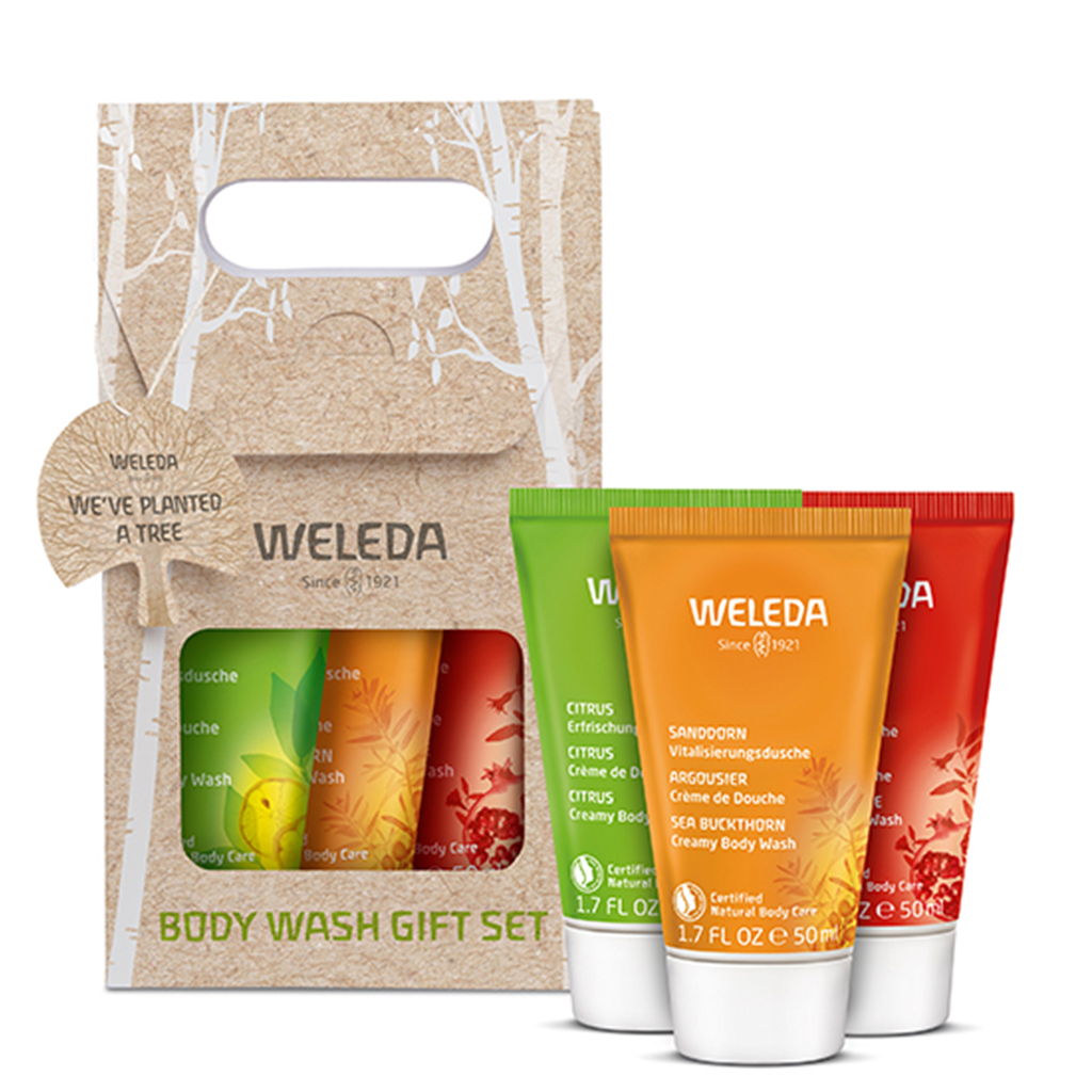 Weleda Special Offer Body Wash Gift With Purchase