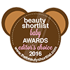 Beauty Shortlist Baby Awards 2016