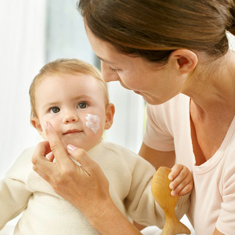 The secret of baby's skin