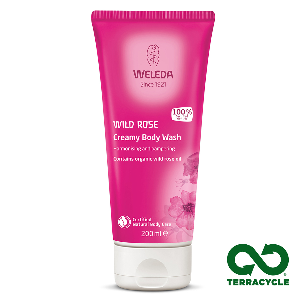 Wild Rose Body Wash 200ml