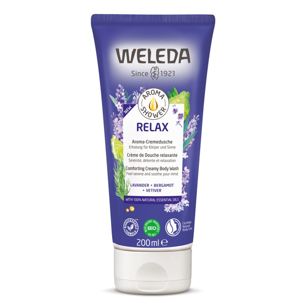 Relax Comforting Creamy Body Wash 200ml