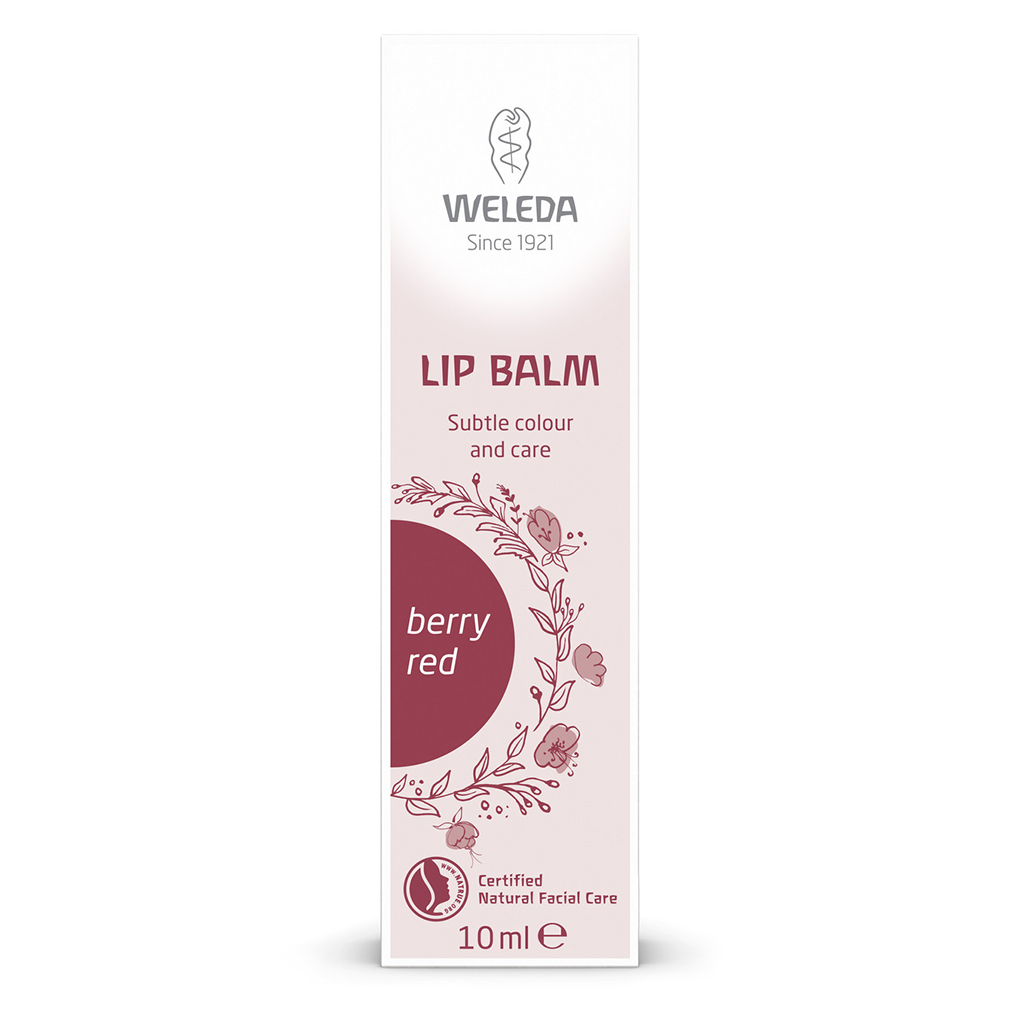 Berry Red Tinted Lip Balm 10ml
